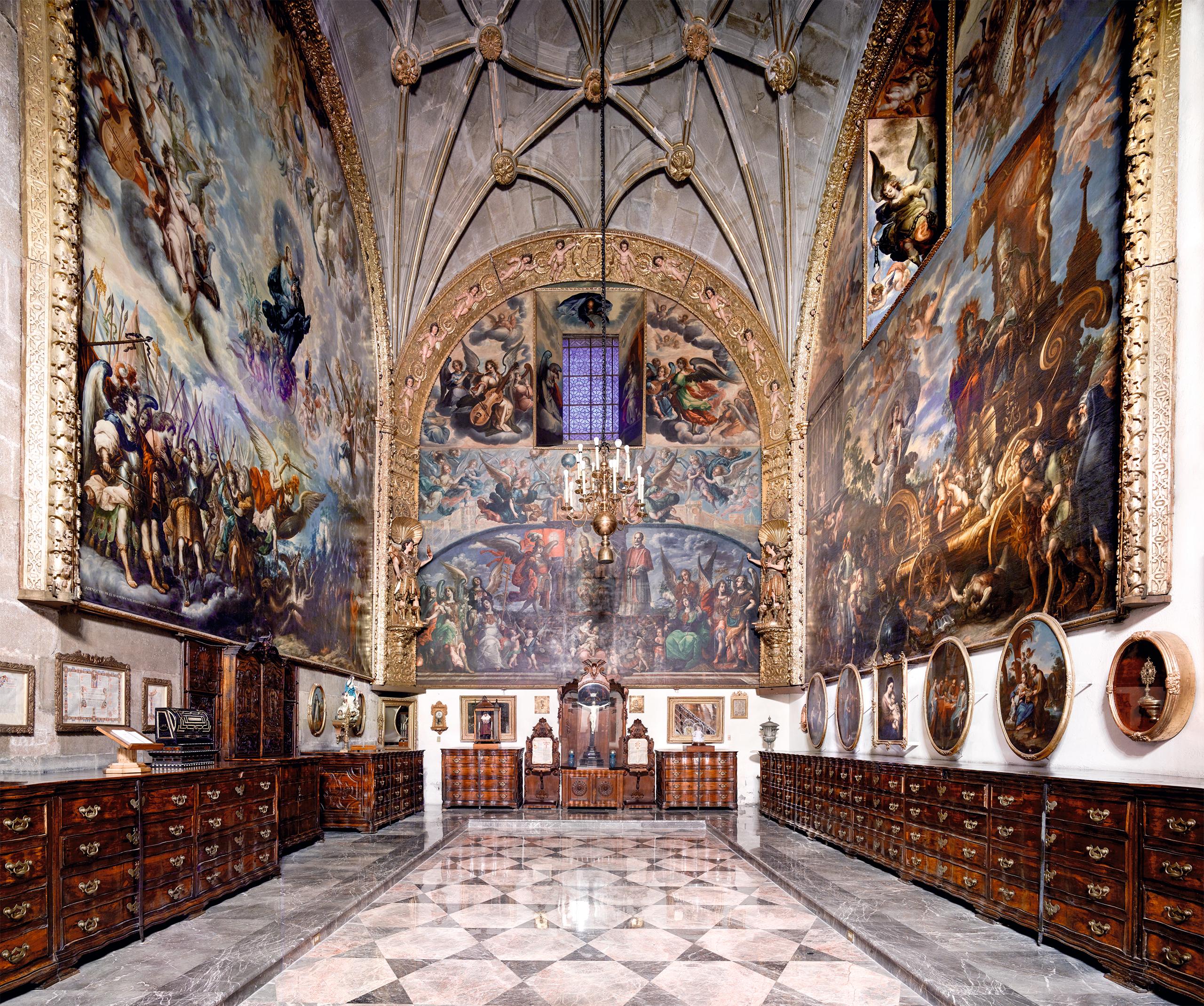 Catedral Metropolitana Ciudad de México II 2015  | Candida Höfer en México | Museo Amparo, Puebla