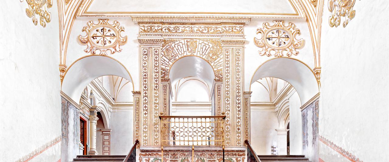 Convento de Santo Domingo Oaxaca IV 2015 | Candida Höfer en México | Museo Amparo, Puebla