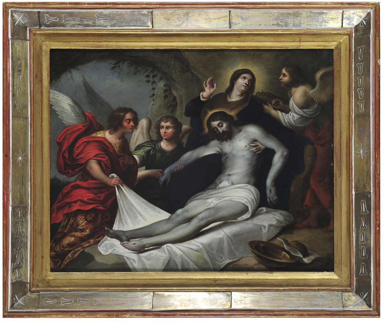 Lamentaciones sobre el cuerpo de Cristo   Creación y restauración: lo singular y complejo del arte   Museo Amparo, Puebla