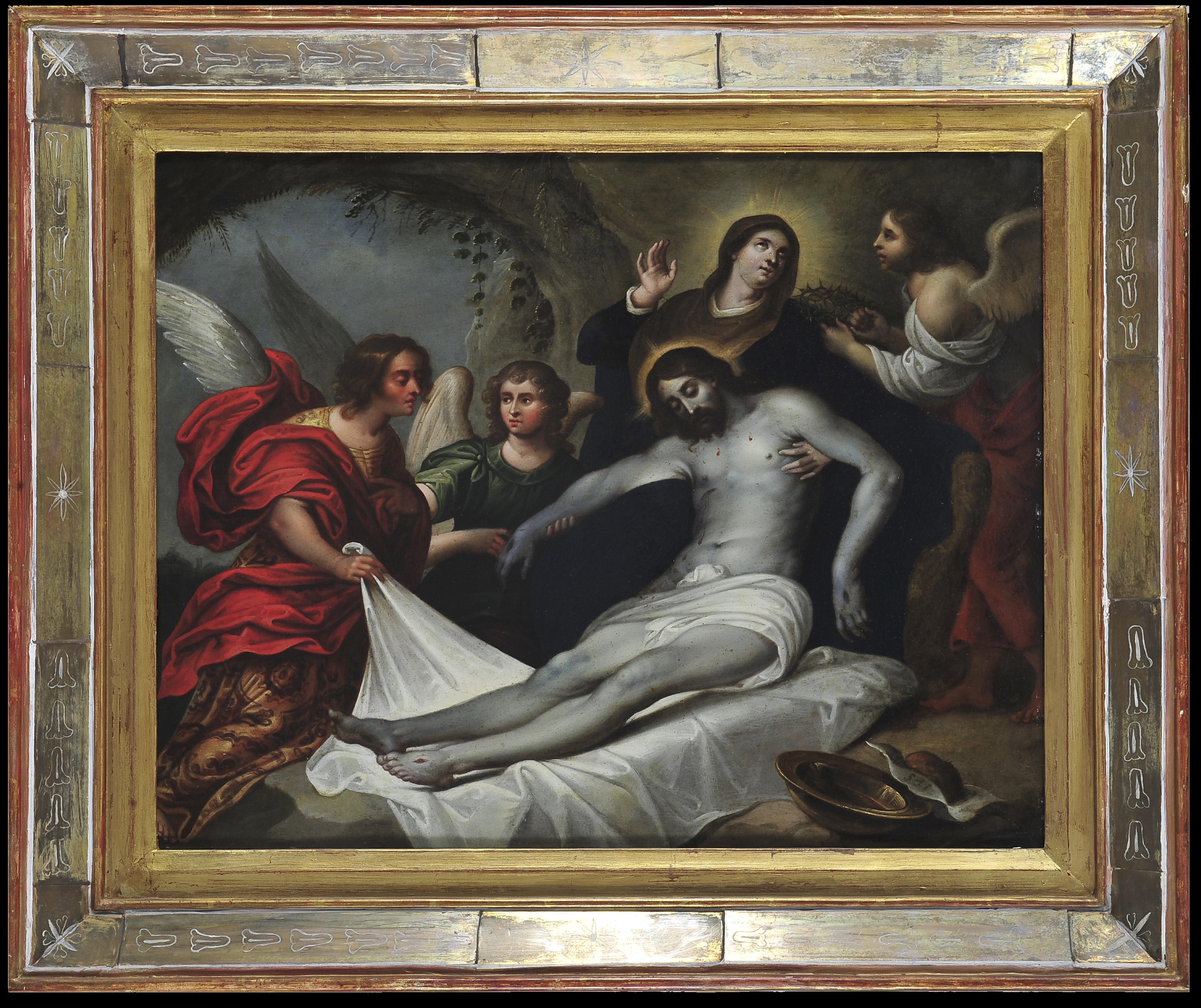 Lamentaciones sobre el cuerpo de Cristo | Creación y restauración: lo singular y complejo del arte | Museo Amparo, Puebla