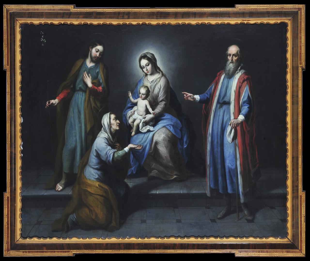 Los cinco señores | Creación y restauración: lo singular y complejo del arte | Museo Amparo, Puebla
