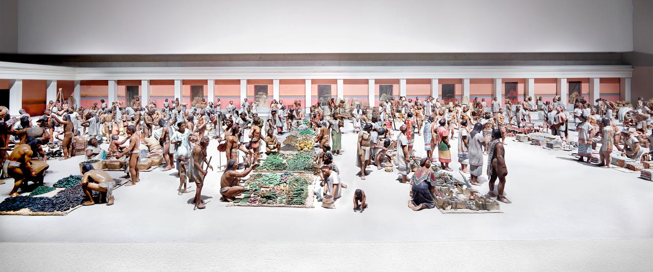 Museo Nacional de Antropología Ciudad de México I 2015  | Candida Höfer en México | Museo Amparo, Puebla