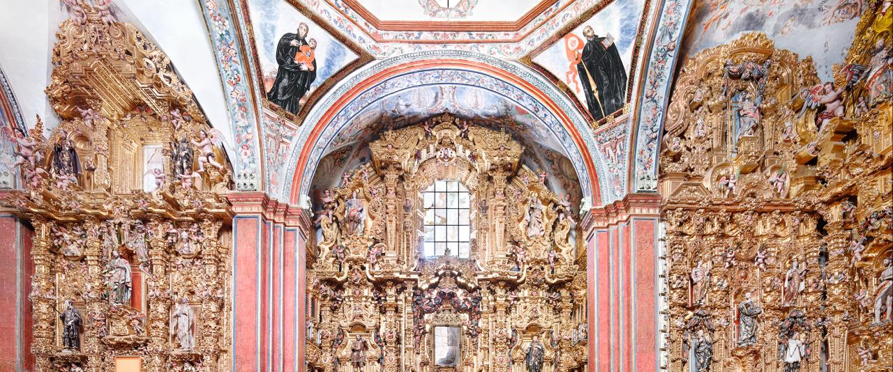 Museo Nacional del Virreinato Tepotzotlán V 2015  | Candida Höfer en México | Museo Amparo, Puebla