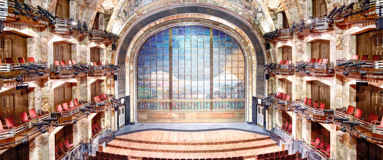 Palacio de Bellas Artes Ciudad de México I 2015  | Candida Höfer en México | Museo Amparo, Puebla