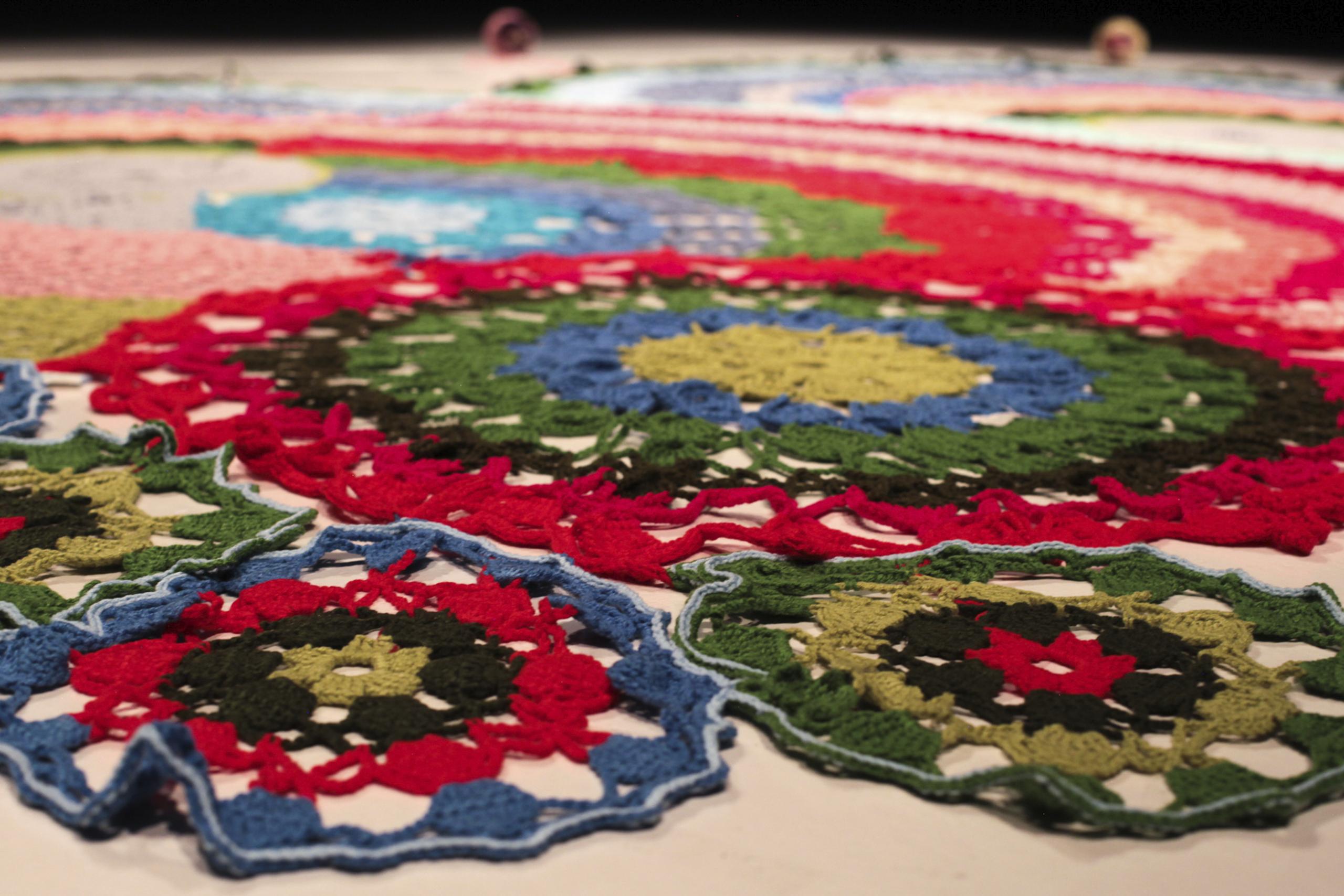 Soy mandala  | Movilizando afectos: Coparticipación e inserción local, tres proyectos artísticos | Museo Amparo, Puebla
