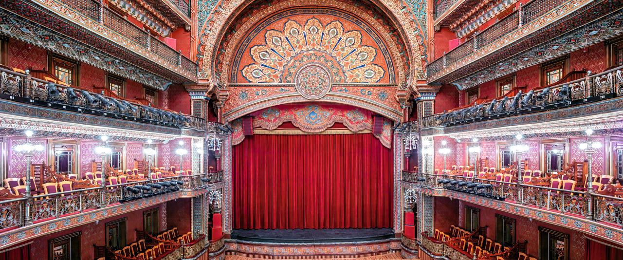 Teatro Juárez Guanajuato I 2015 | Candida Höfer en México | Museo Amparo, Puebla