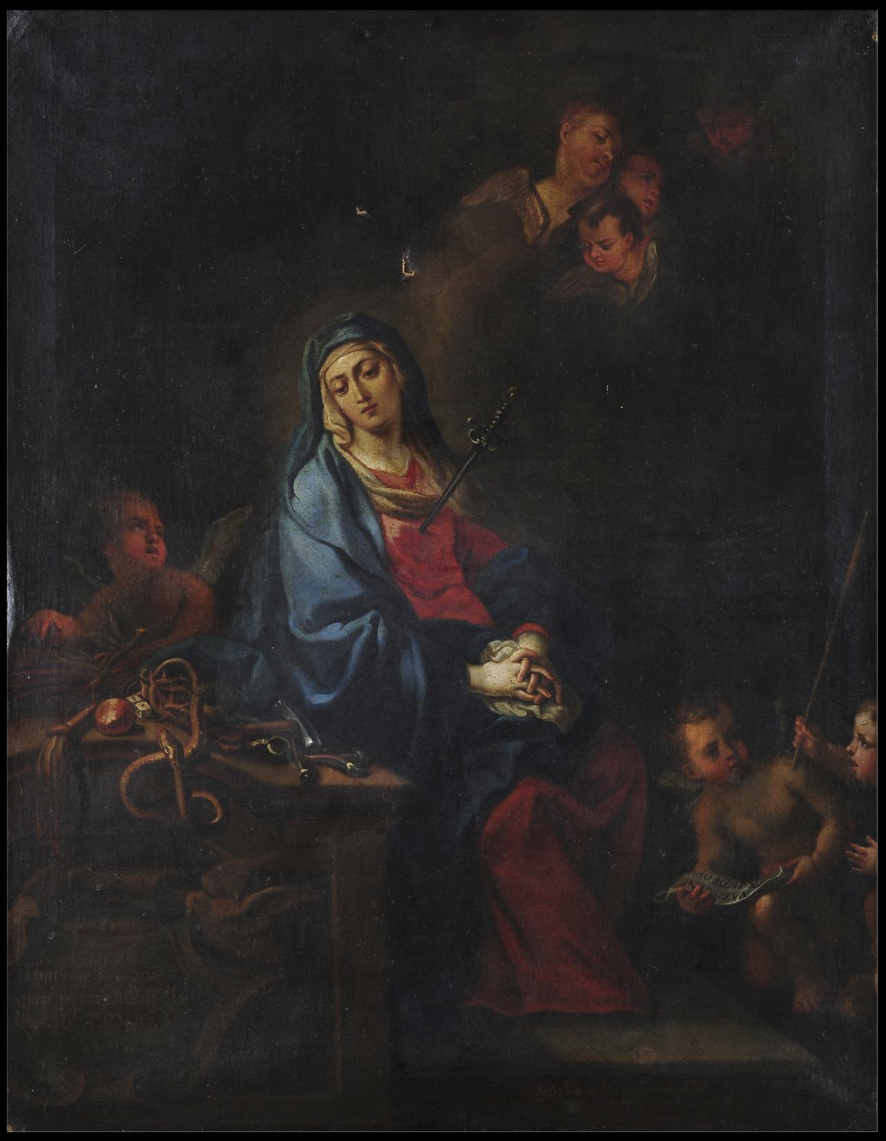 Virgen de la Soledad | Creación y restauración: lo singular y complejo del arte | Museo Amparo, Puebla